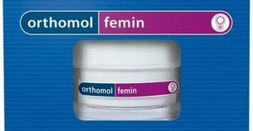 Витамины ортомол для женщин в период климакса